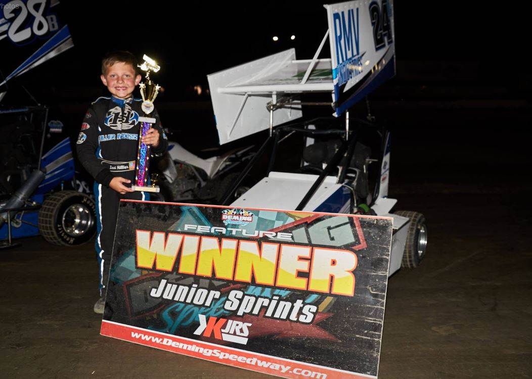 Mitchell Rolls to a Win at Deming Speedway