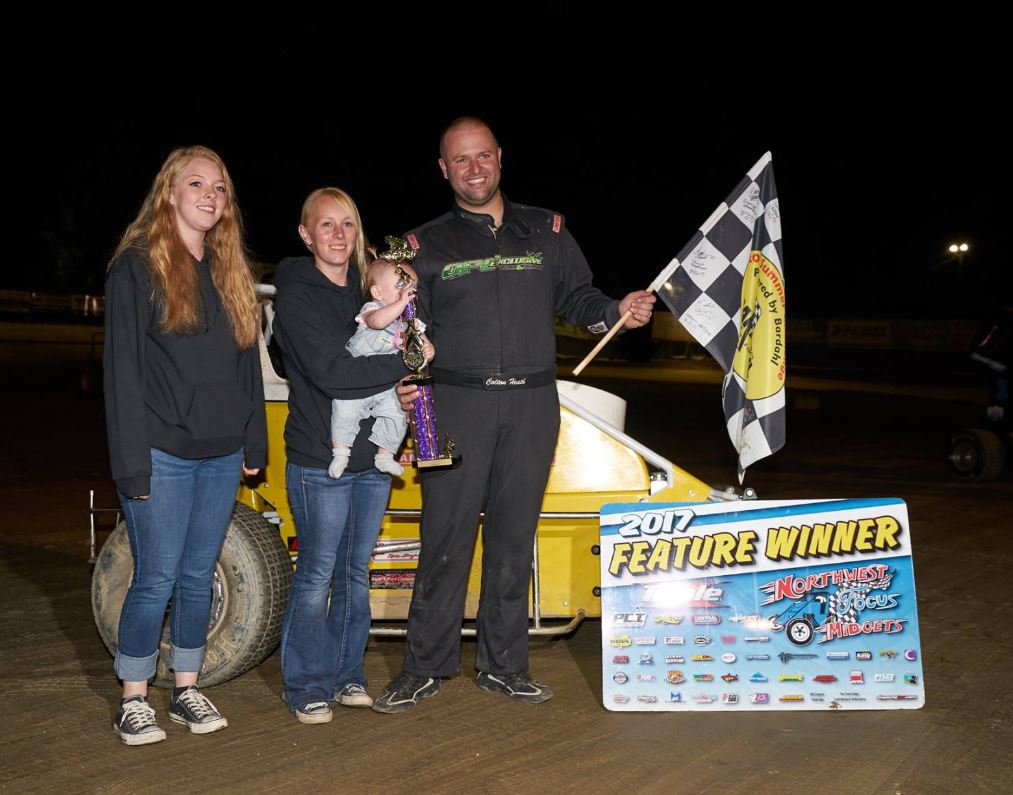Wire to Wire Winners at Deming Speedway