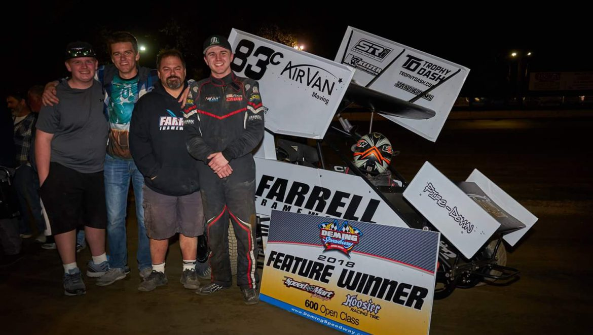 Crum Doubles Up Deming Speedway