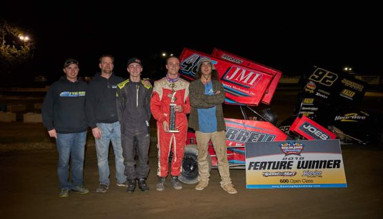 Holm Scores 3rd Deming Win