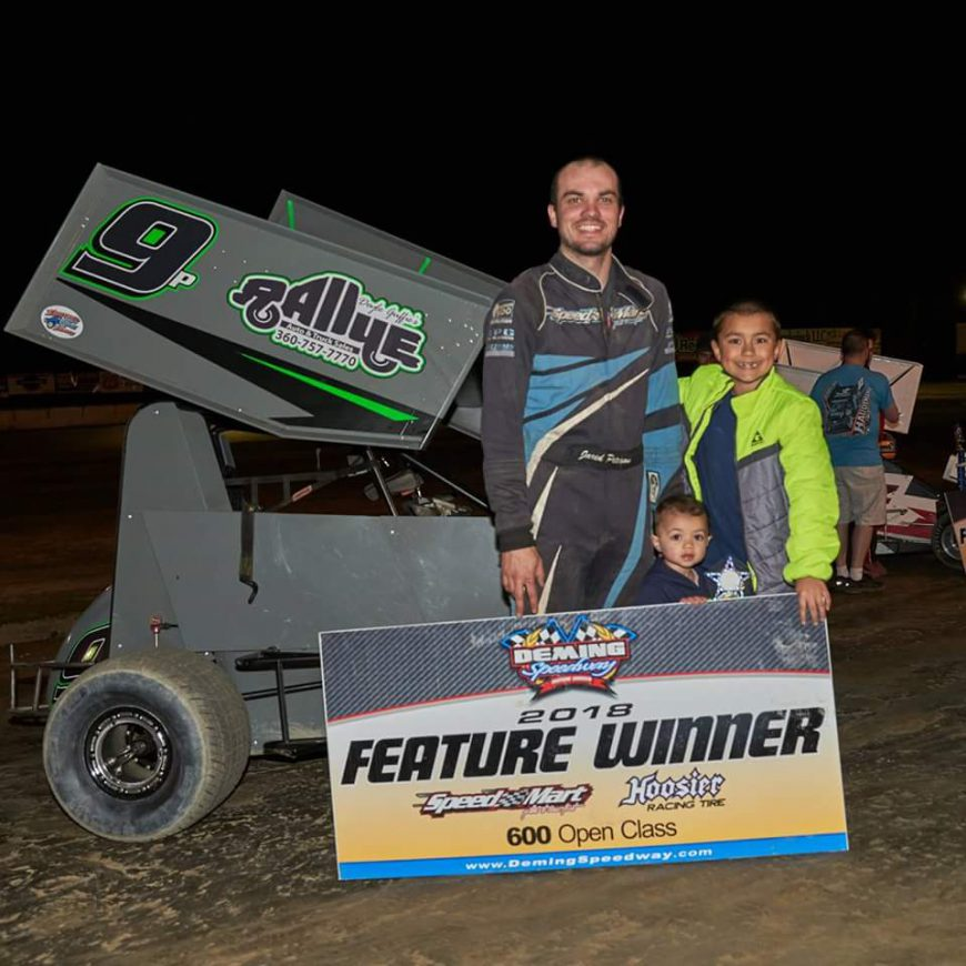 Peterson Runs to First Deming Win of 2018