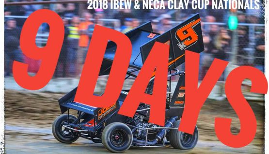 The Count Down is On- ONLY NINE DAYS- Until Clay Cup