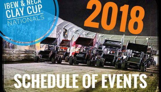 2018 IBEW & NECA Clay Cup Nationals  ~Schedule of Events~
