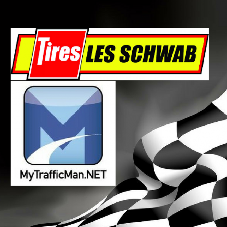MyTrafficMan.net and Les Schwab Tire Night at the Races