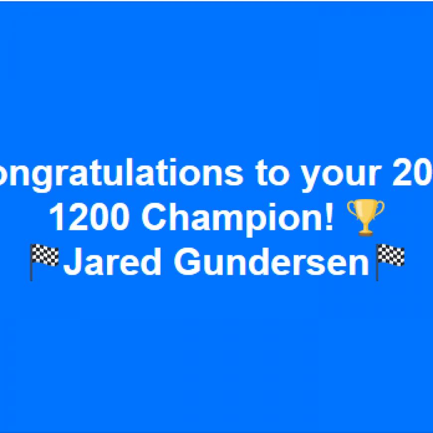 2018 Shots2Go Espresso 1200 Champion