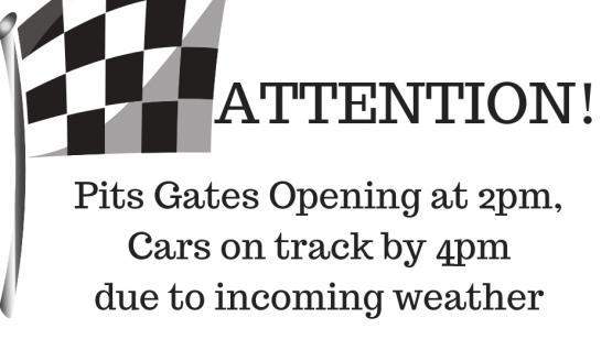 RACING STARTING EARLY Tonight 9.29