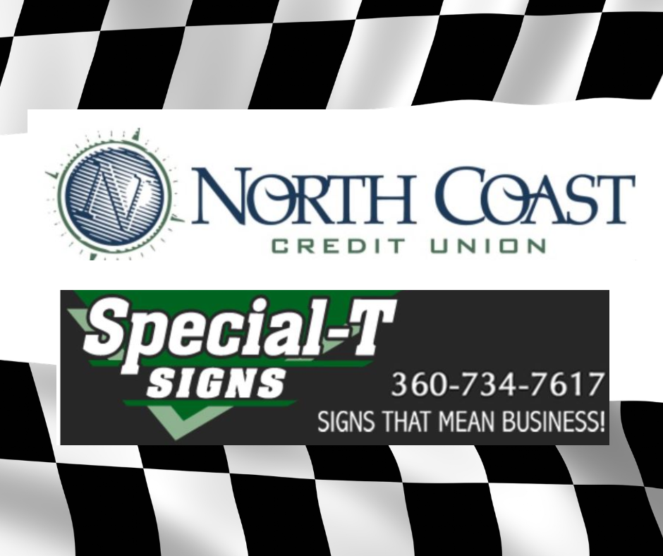 North Coast Credit Union & Special T Sign and Graphics night at the races