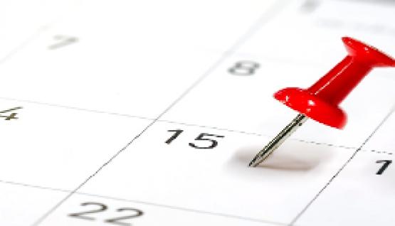 2019 Tentative Schedule