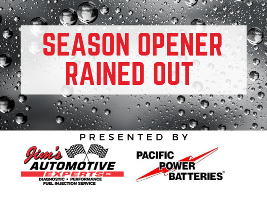 RAINED OUT – Sorry Folks!