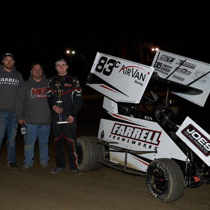 Crum Starts 2019 With 600 Win at Deming Speedway