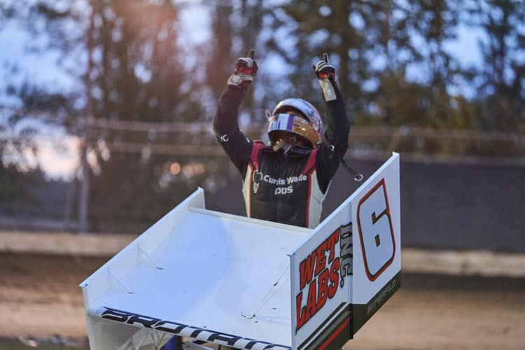 Gunner Wins One for Wayne at Deming Speedway