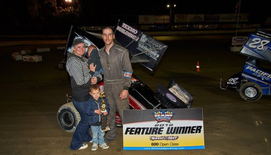 Johnson Back in Victory Lane at Deming Speedway
