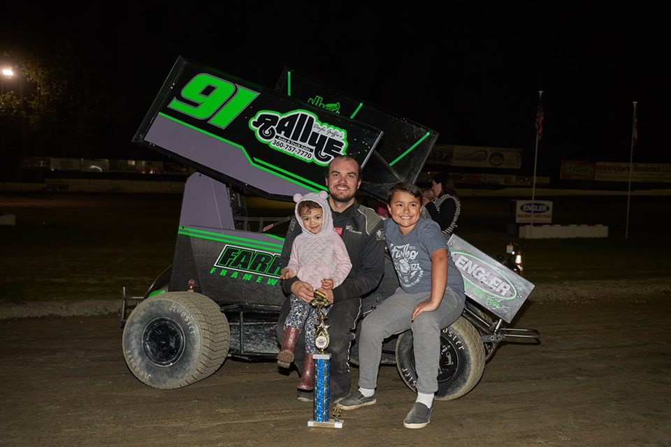 Peterson Wins on Autism Speaks Night at Deming Speedway