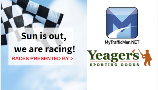 We're Racing! MyTrafficMan.net and Yeager's Sports Goods Night