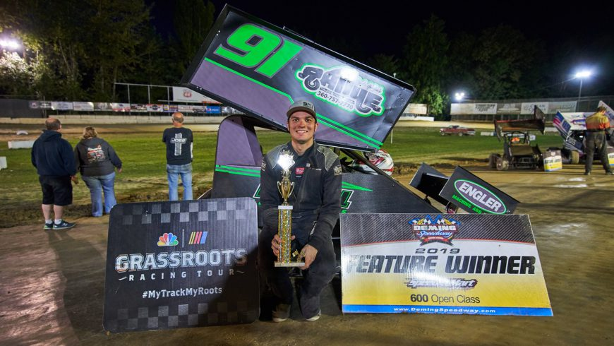 Peterson Wins Clay Cup Tune Up
