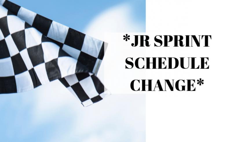 Jr Sprint Schedule Change-2019 IBEW NECA Clay Cup Nationals