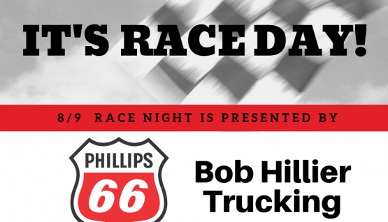 It's Phillips 66 & Bob Hillier Trucking Night at the Races!