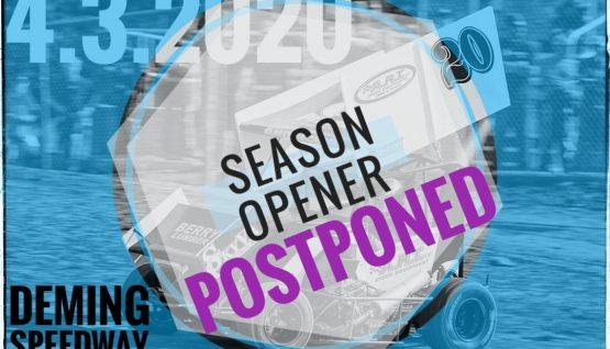 Season Opener Postponed